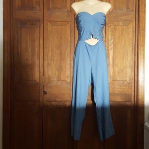 Fashion Nova Sleeveless Jumpsuit NWT